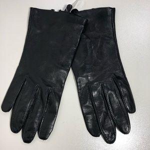 Nordstrom Womens Lambskin Silk Lined Gloves